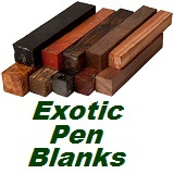 Exotic Pen Blanks