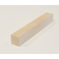 "Basswood Carving Blank - 1.75"" x 1.75"" x 12"""
