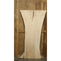 "Ambrosia Maple Natural Edge Slab 2.25"" x 32.5"" x 91"""