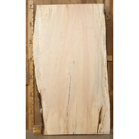 "Spalted Maple Natural Edge Slab 2.75"" x 46"" x 86"""